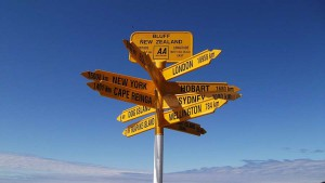 Stirling Point Signpost, Bluff, New Zealand